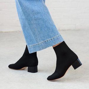 Loeffler Randall Carter Sock Boot NEW NEVER WORN
